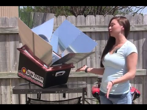 Solar cooking Missouri Wind and Solar reviews Sun Oven