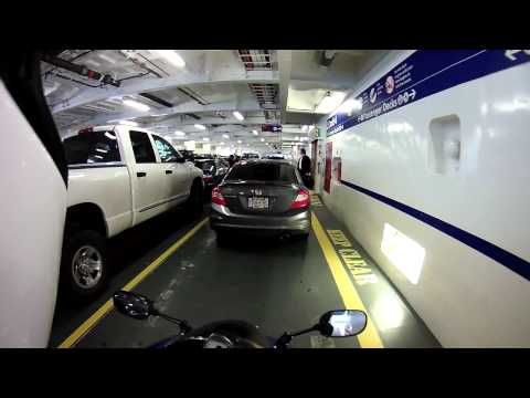 Motorcycle Reason #42: B.C. Ferries