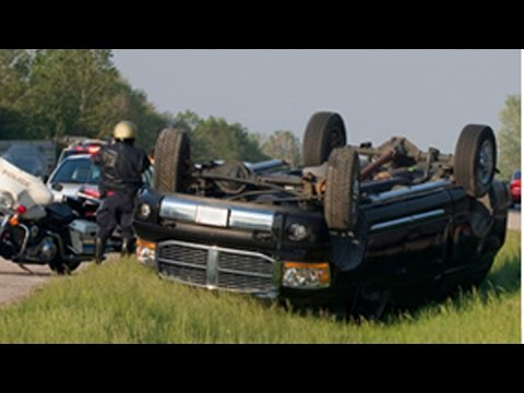 MEDIAN ROLLOVER - My Trucking Life #378
