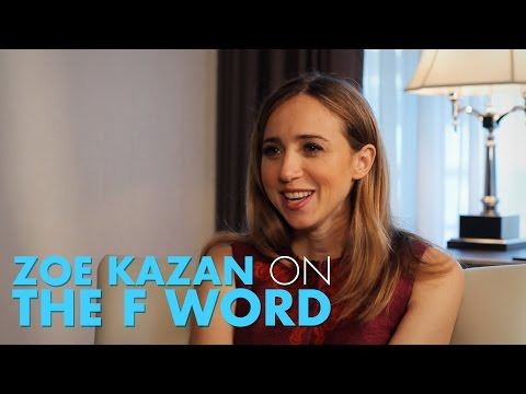 Zoe Kazan Talks Seeing Daniel Radcliffe Naked and The F Word
