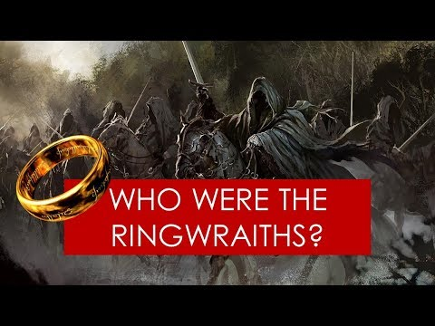 Who were the Nine Ringwraiths? [Lord of the Rings EXPLAINED]