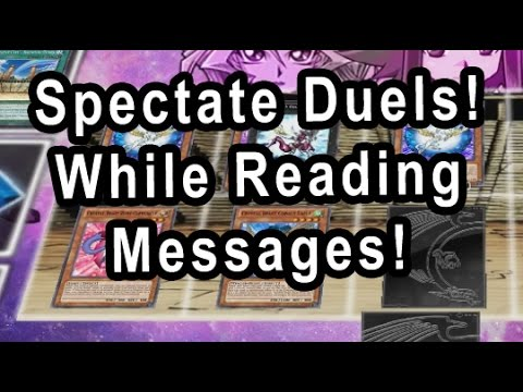 Random Spectate Duels! While Reading Messages From Facebook Fan Page
