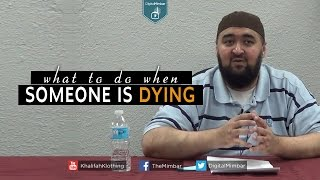 Important Conversations to have when Someone is Dying  – Navaid Aziz