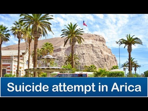 Diciembre 2010 - Intento de suicidio en el Morro de Arica (Suicide attempt in Arica, Chile)