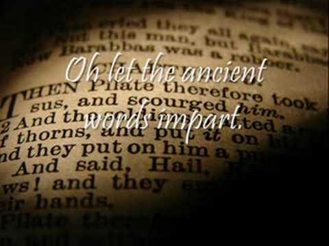 Lyrics of ancient words