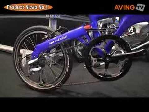 Birdy Folding Bike - Intego Blue.