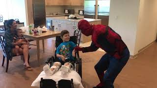 Charity for kid with 2 injured legs