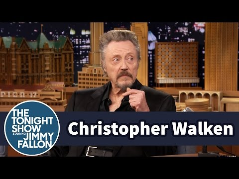Christopher Walken Watches A Clip Of Himself As A Child Actor video