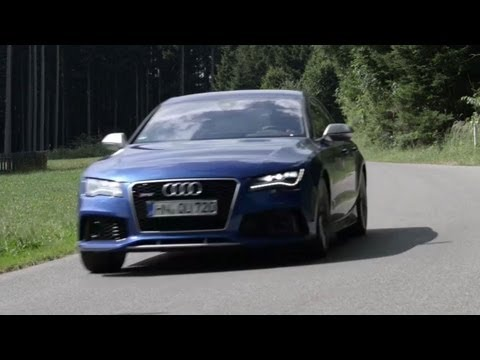 Audi RS7, Flat Out on the Autobahn - /DRIVEN