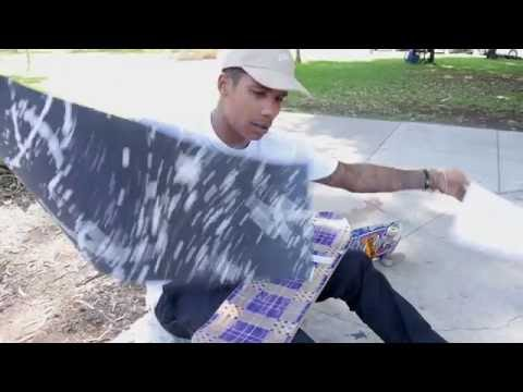 Boo Johnson Signature Splatter Print Griptape Commercial