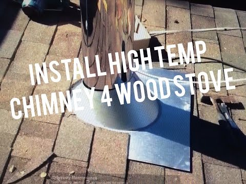 How to Install ICC Stainless Steel Chimney - Flue Guru - Victoria BC