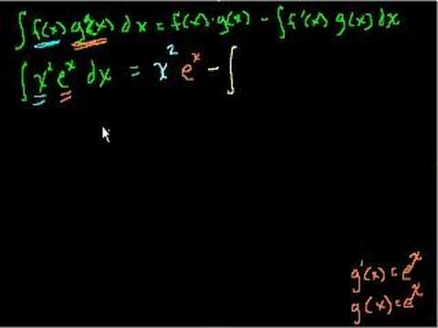 Integration by Parts (part 6 of Indefinite Integration)