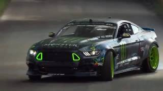 Ken Block VS Vaughn Gittin Jr at Goodwood Festival of Speed