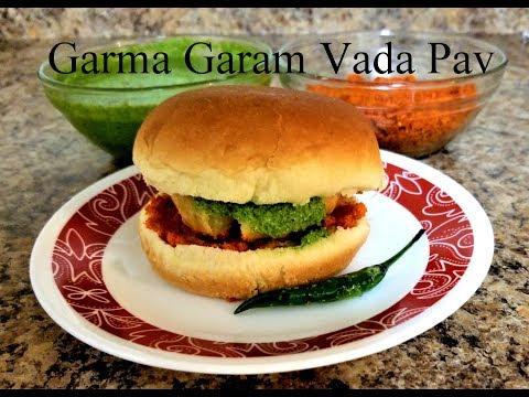 Vada pav recipe | batata vada recipe | Mumbai vada pav | aloo vada