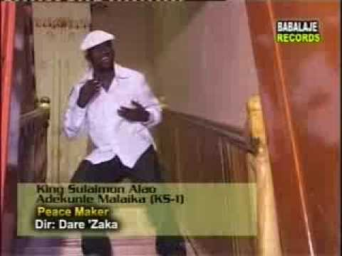 Peacemaker Video Album (2004) Side2. By King Sulaiman Alao Adekunle Malaika Alayeluwa video