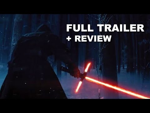 Star Wars Episode 7 The Force Awakens Official Teaser Trailer + Trailer Review : Beyond The Trailer