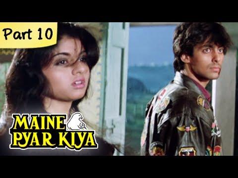 Maine Pyar Kiya (HD) - Part 10/13 - Blockbuster Romantic ...