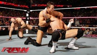 Dolph Ziggler vs. Cesaro vs. The Miz – Intercontinental Title Match: Raw, Sept. 29, 2014
