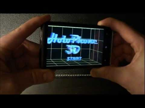 how to make a 3d hologram video of yourself