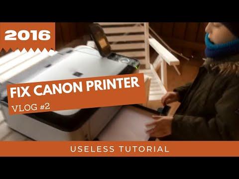 VLOG #2 - Jak Naprawić Drukarkę Canon MP550. Na Zawsze.