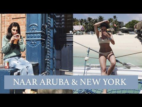 WEEKVLOG: NAAR NEW YORK & ARUBA - Anna Nooshin