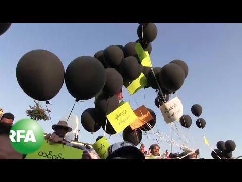 Myanmar Students Hold Vigil Against Police Violence