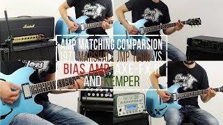 1971 Marshall JMP vs Kemper vs Axe-FX II vs Bias Head | Amp Matching Fight