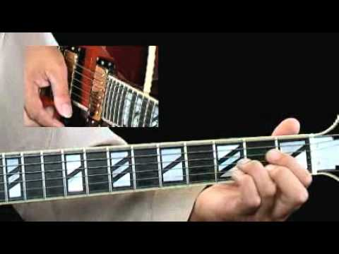 Jazz Comping - #6 Tri-Tone Subs Example - Jazz Guitar Lessons - Fareed Haque
