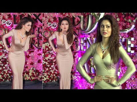 Urvashi Rautela At Lux Golden Rose Awards 2017 Red Carpet