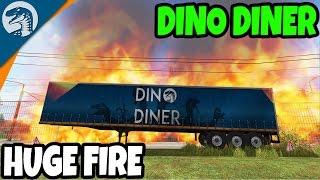 DINO DINER DISASTER | Rappack Farms #60 | Farming Simulator 17 Multiplayer Gameplay