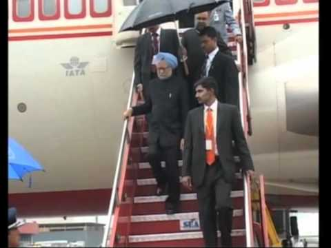 Indian PM arrives in Brazil to attend Rio+20 Summit