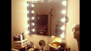 Diy : Vanity Girl Inspired Hollywood Mirror
