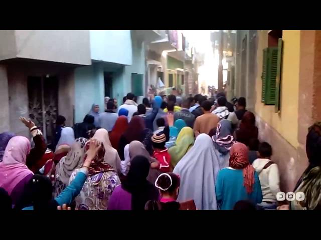 رصد | المنيا | مسيرة لمتظاهرى مركز سمالوط بقرية دفش ضد الانقلاب العسكرى