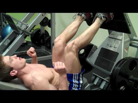 How To: Leg Press (Cybex) Image 1