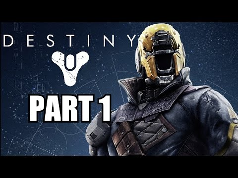 Destiny Beta PS4 Gameplay Walkthrough Part 1 - Let's Play Review With Commentary 1080P