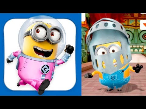 Knight Minion!!! Despicable Me: Minion Rush Gameplay (iphone, Ipad, Ios, Android) video