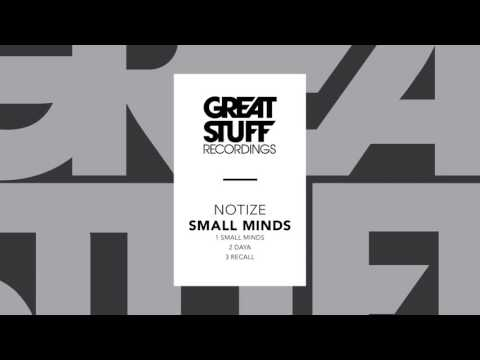 Notize - Small Minds