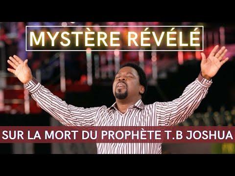 Mystère Révélé sur la Mort du Prophète T.B Joshua    Vision Céleste    Pasteur Daniel Vindigni