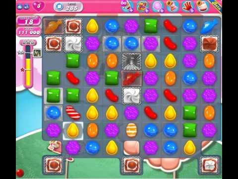 Candy Crush Saga Level 285 ★★ for 菜健康