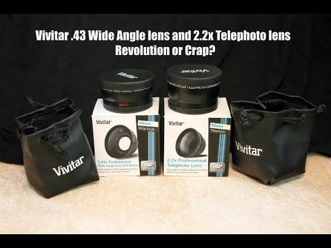 Vivitar Wide Angle and Telephoto Lenses - Revolution or Crap?