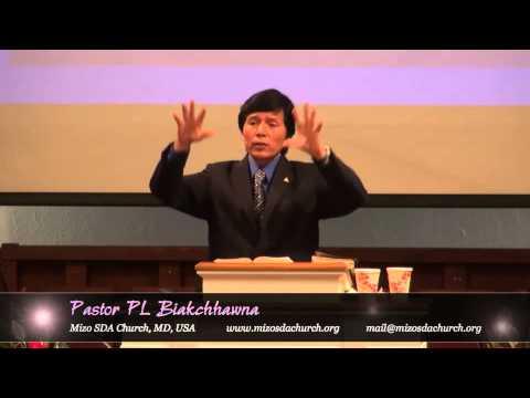 Pastor Biakchhawna - Pathian Chhinchhiahna Chawlhni (Sabbath...