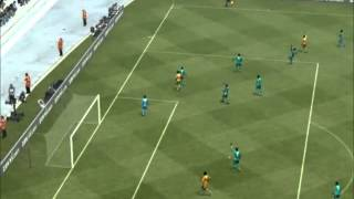 PES 2013 | Côte d'Ivoire - Nigeria | Africa Cup of Nations 2013 Group D Matchday 2