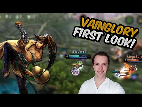 Vainglory First Look - Amazing Touch Control!