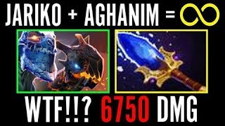 Jakiro Aghanim's Endless Fire Path Gameplay by KingR dota 2 Support