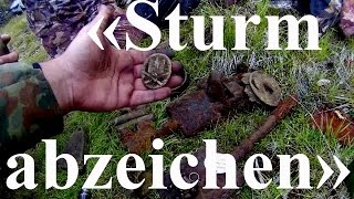 Коп по войне. Кольский 2015.«Sturmabzeichen» search positions 6 Mountain Division Wehrmacht