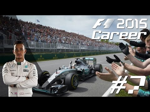 F1 2015 LEWIS HAMILTON Career Mode - PART 7 AUSTRIAN Grand Prix!