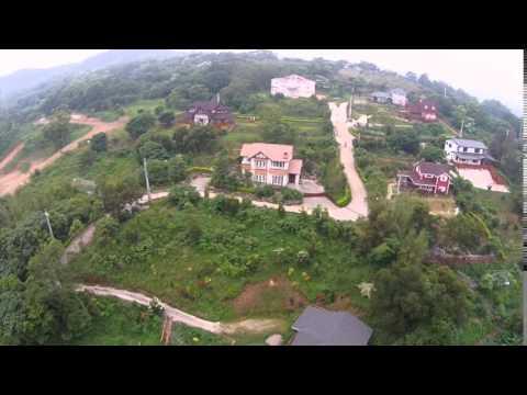 樂活山莊社區。現場實景拍攝