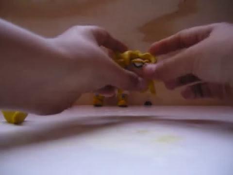Como hacer a Broly el ssj legendario en plastilina