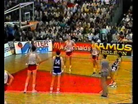 ЧЕ по баскетболу 1985г.   СССР - Югославия   2-й тайм