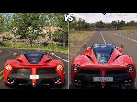 The Crew 2 vs Forza Horizon 3 - Ferrari LaFerrari Gameplay Comparison HD